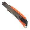 Нож строительный PATRIOT CKP-183, с выдвижным сегментированным лезвием, автофиксатор, двухкомпонентный алюминиевый корпус, 18мм, 350004414